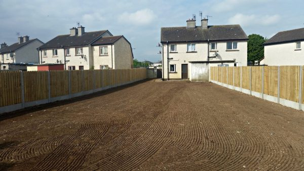 Garden and Fence - Private House Nenagh