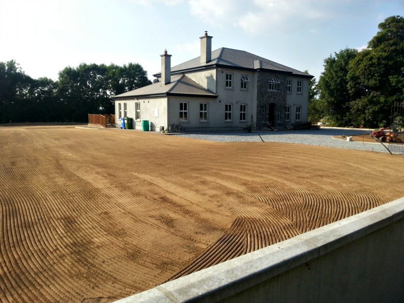 Rejuvenated Lawn - Private House, Nenagh